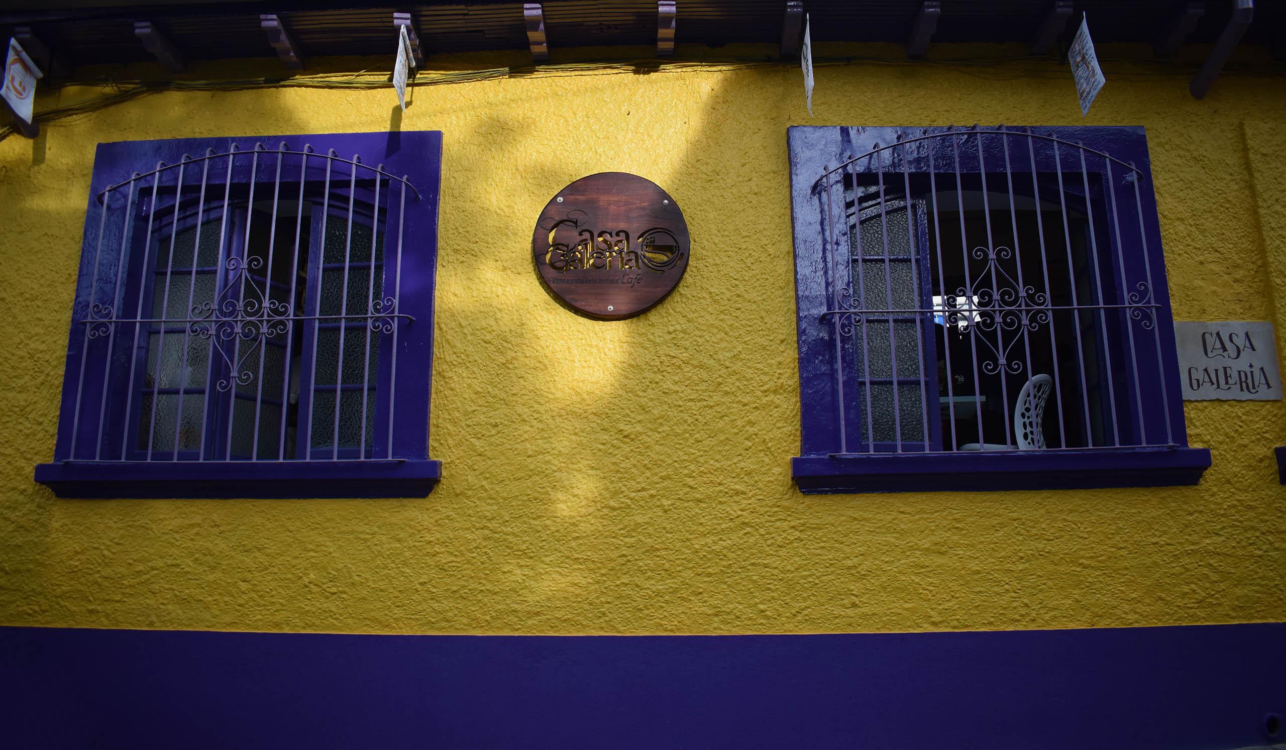 Café, Hotel, en el centro historico de Bogota